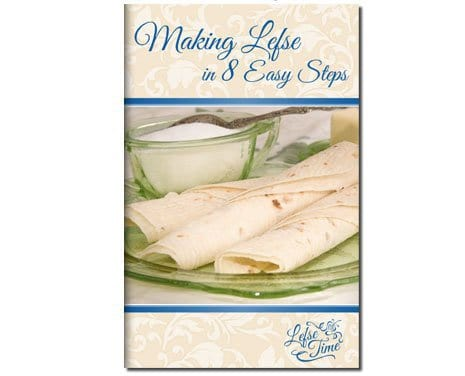 Eight easy steps to making lefse booklet