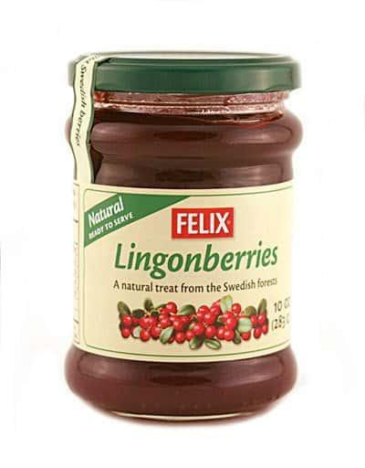 Felix Lingonberries 10 oz jar